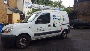 Brush Strokes Decorators' Van in Dulwich