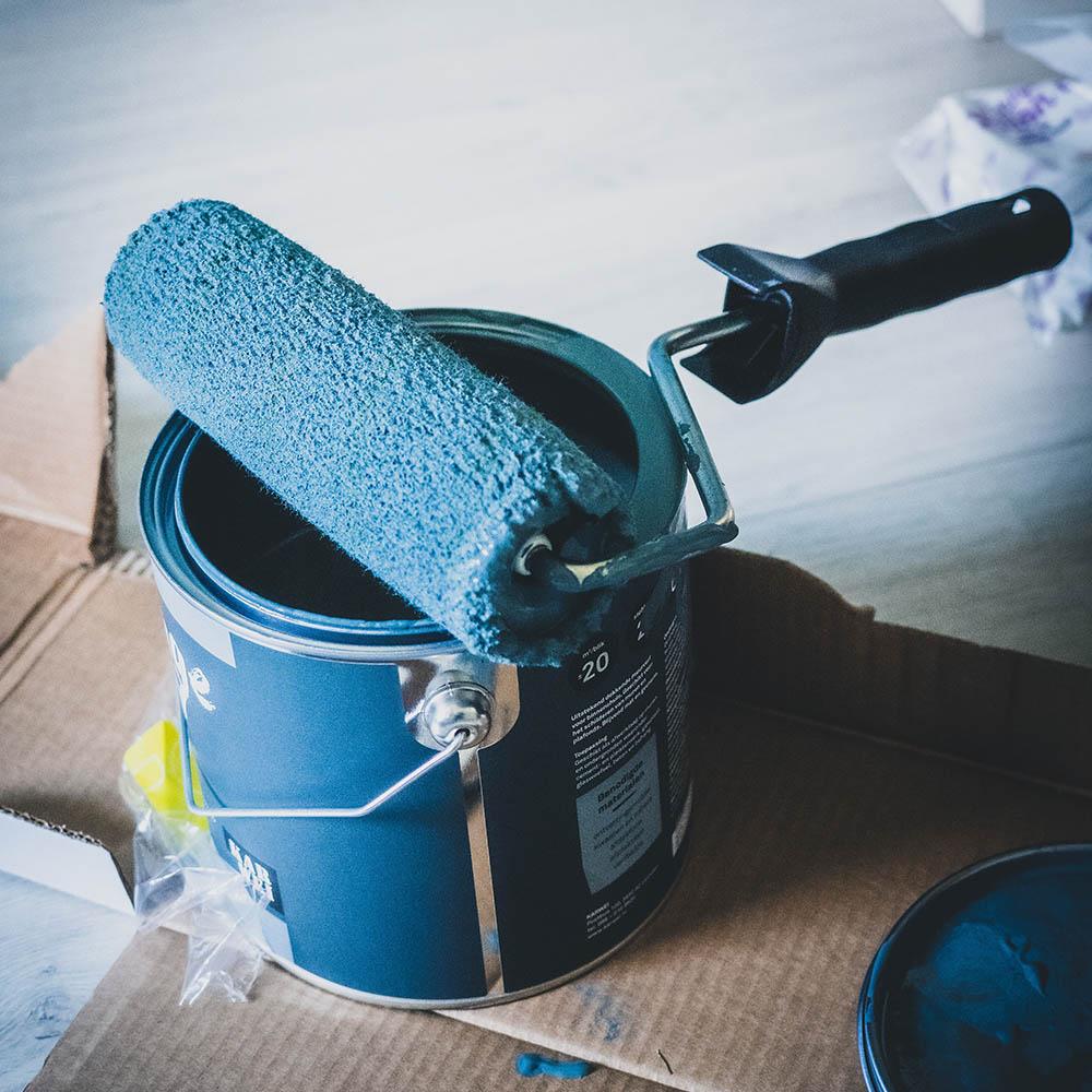 Designer paints - Brush Strokes Decorating